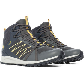 The North Face Litewave Fastpack II WP Mid-Cut Schuhe Herren dark shadow grey/urban navy